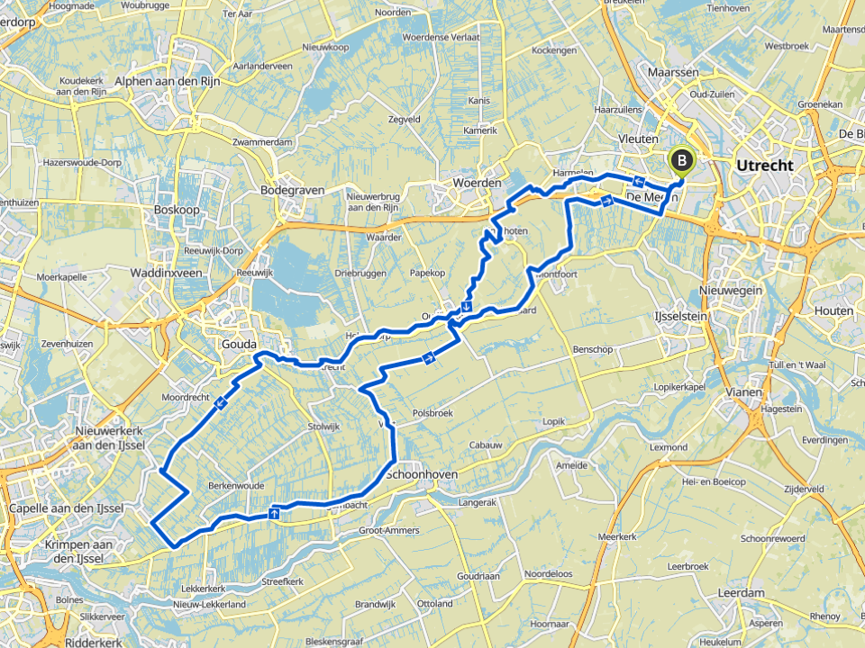 Routes van de Maximus Ride 2019